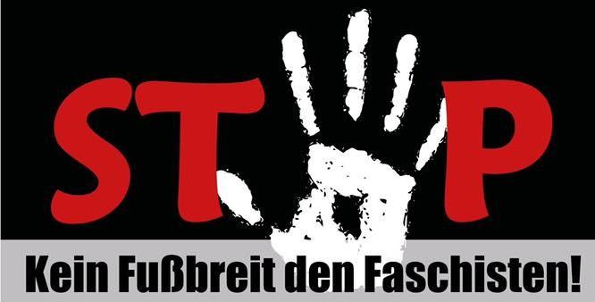 Kein Fußbreit den Faschisten
