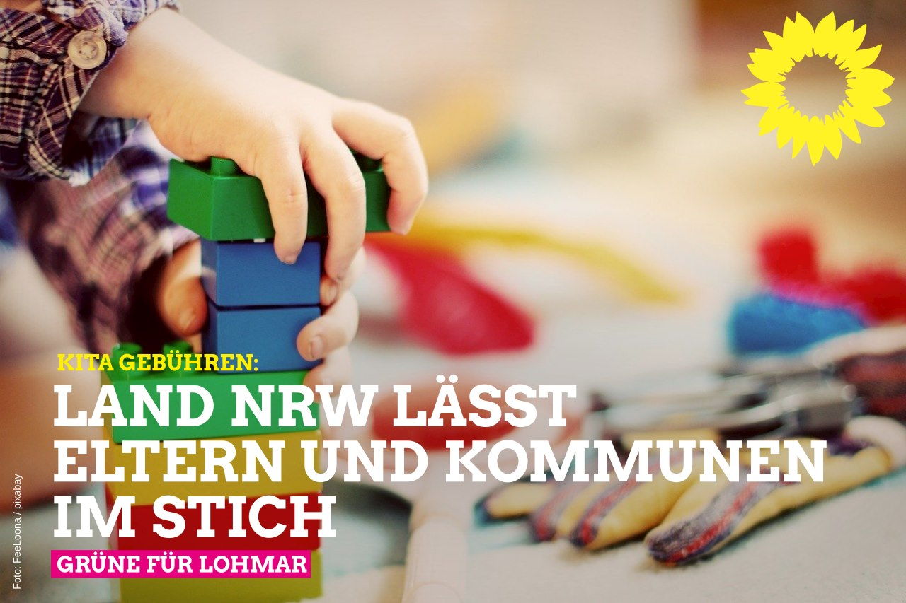 Kita-Beiträge: Das Land NRW lässt Eltern und Kommunen im Stich!