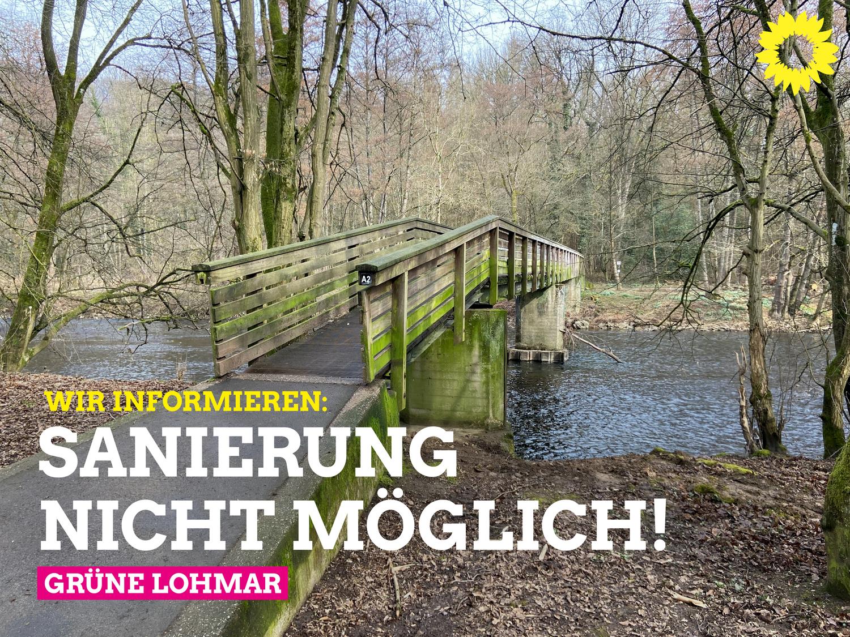 Aggerbrücken in Donrath und Agger: Ersatzneubauten mit deutlichen Verbesserungen müssen mit Förderprogrammen umgesetzt werden!