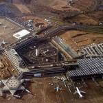 Luftbild des Flughafens Köln/Bonn