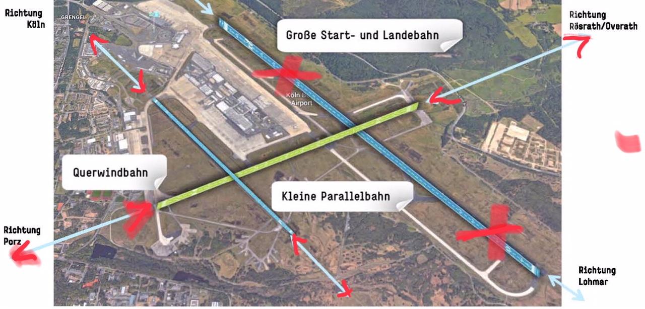 """Bananenrepublik"" Flughafen Köln / Bonn: Plötzlich wird monatelang anders geflogen"