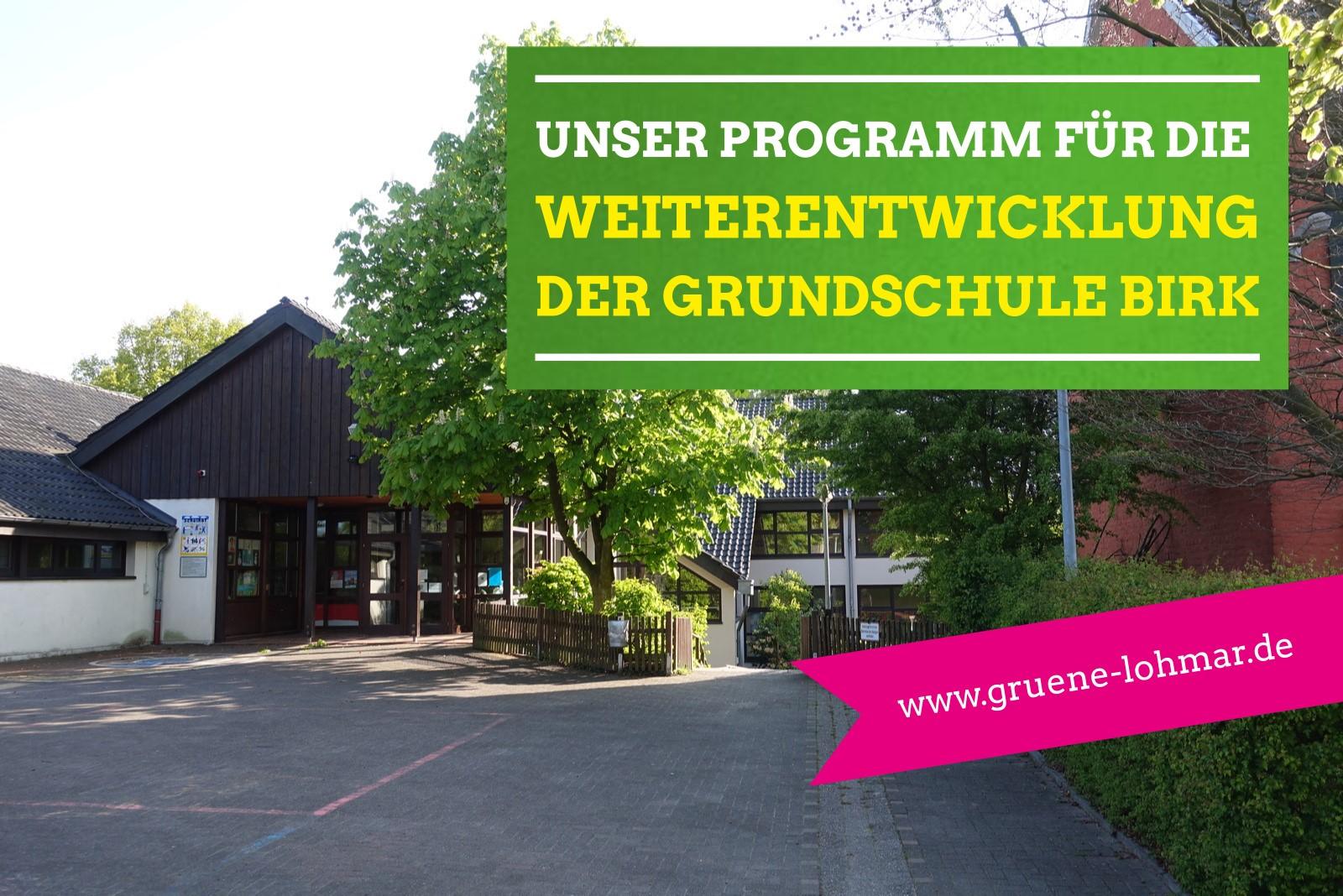 Weiterentwicklung in Birk – Birker Offene Ganztagsgrundschule