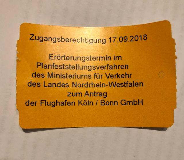 Anhörung zum Planfeststellungsverfahren in Köln gestartet!