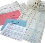 Unterlagen zur Briefwahl (Foto: Christian Horvat)