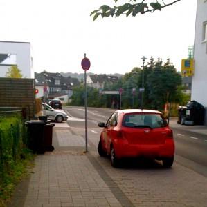 Hochwertiger und barrierefreier Wohnraum entsteht in der Baulücke rechts in der Vila-Verde-Straße.